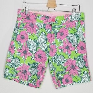 Lilly Pulitzer new green resort Bermuda shorts